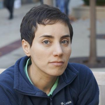 Image: Professor Maryam Mirzakhani