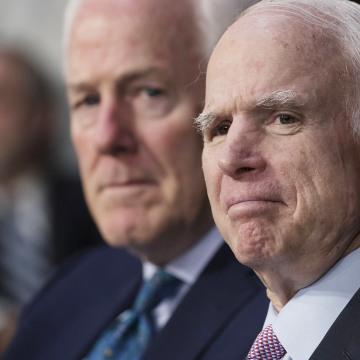 Image: John McCain, John Cornyn
