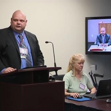 Image: O.J. Simpson parole board hearing