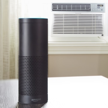 Image: Amazon's Alexa interacts with the Kenmore Smart Air Conditioner