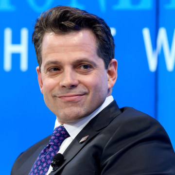 """Image: Anthony Scaramucci attends a meeting on the theme """"Monetary Policy: Where Will Things Land?"""" on the opening day of the World Economic Forum in Davos, Jan. 17, 2017."""
