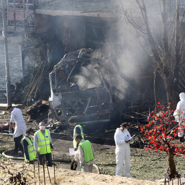 Image: At least 24 people were killed and 40 injured in suicide bombing in Kabul