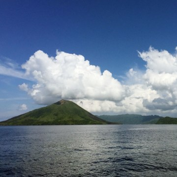 The Banda Islands, better known as the Spice Islands are 10 tiny specks in the Banda Sea.