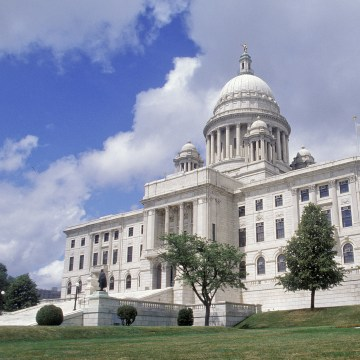Image: The Rhode Island State House in Providence