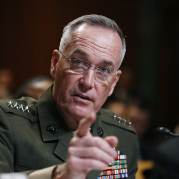 Image: Joint Chiefs Chairman Gen. Joseph Dunford testifies on Capitol Hill