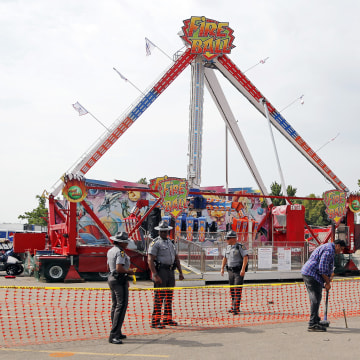 Image: Ohio State Fair Fire Ball ride