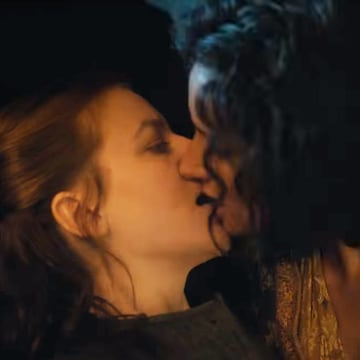 Image: Actors Yara Greyjoy (Gemma Whelan) and Ellaria Sand (Indira Varma) on HBO's Game of Thrones.
