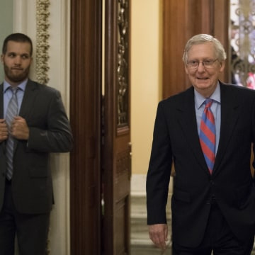 Image: Senators Debate Health Care Bill On Capitol Hill
