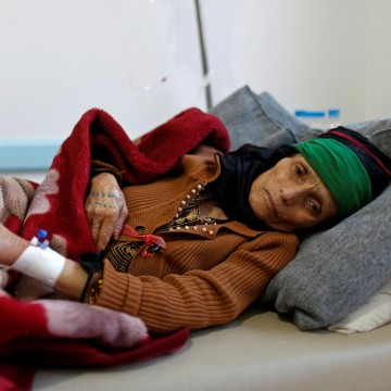 Image: Deadly cholera outbreak in Yemen