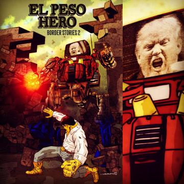 Latino Comic - El Peso Hero