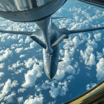 Image: US bombers conduct bilateral mission with allies in response to North Korea ICBM launch