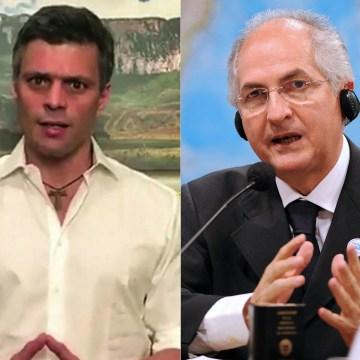 Image: Leopoldo Lopez and Antonio Ledezma