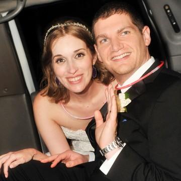 Image: Newlyweds Andrew and Neely Moldovan