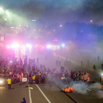 Image: Black Lives Matter Protesters in St. Paul Shut Down I-94
