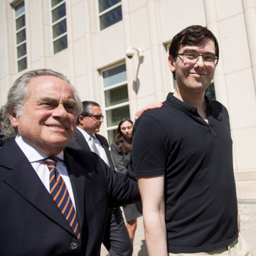 Image: Jury Deliberations Continue In Martin Shkreli Securities Fraud Trial