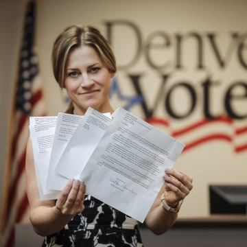 Image: Amber McReynolds is the Director of Elections for the City and County of Denver, Co
