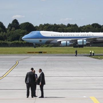 Image: G20 Leaders Arrive For Hamburg Summit