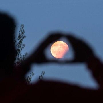 Image: Partial Lunar Eclipse