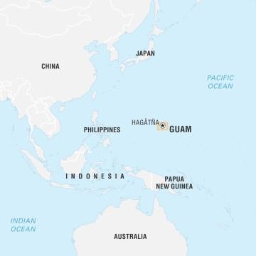 Image: Locator Map, Guam