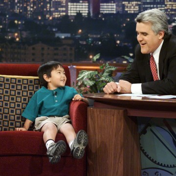 Image: Evan Nagao appears on The Tonight Show with Jay Leno on March 22, 2001