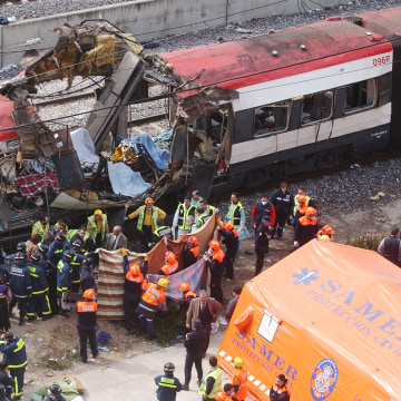 a review of the madrid train terrorism March 31, 2004 - a spanish national court judge issues international arrest warrants for six more suspects in the madrid train bombings as the.