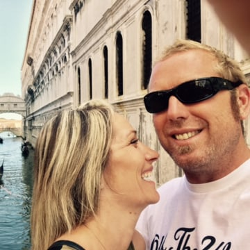 Image: Jared Tucker, of California, who was one of those killed when a van drove onto a sidewalk in Barcelona on Aug. 17, 2017.