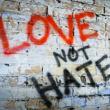 Image: Love not Hate Wall