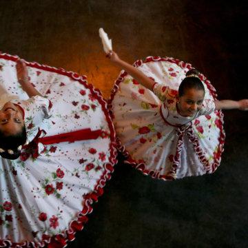 girls Josefa, 13, left, and Selenna, 8.