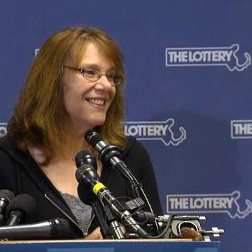 Image: Mavis Wanczyk won the $758 million Powerball jackpot