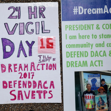 Image: Immigration Activists Rally At The White House In Support Of The Deferred Action For Childhood Arrivals Program