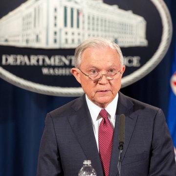 Image: Department of Justice briefing on Deferred Action For Childhood Arrivals Program