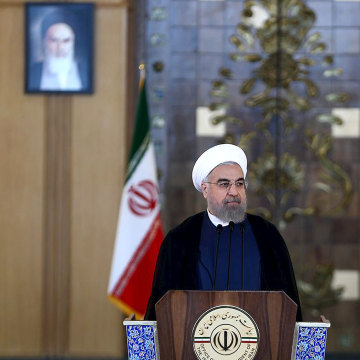 Image: Iran's President Hassan Rouhani.