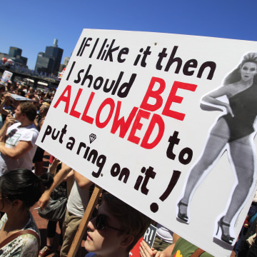 Image: Australian Gay Marriage Poster