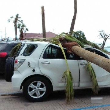 Image: St. Martin damage