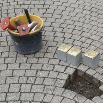 Image: Stolpersteine project