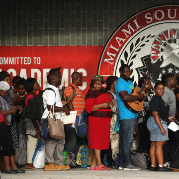 Image: Shelter at Miami Southridge High School