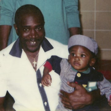 Image: Georgia death row prisoner Keith Tharpe, shown here with his grandchild