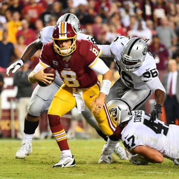 Image: NFL: Oakland Raiders at Washington Redskins