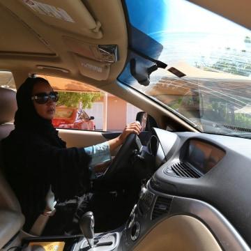 Image: Women's Driving Rights in Saudi Arabia