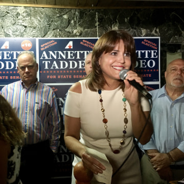 Annette Taddeo, Florida's first Latina Democrat state senator