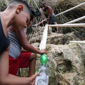 Image: Water Chute in San Juan Puerto Rico