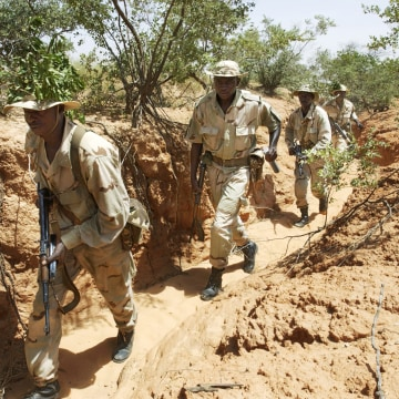IMAGE: Marines train Nigeriens