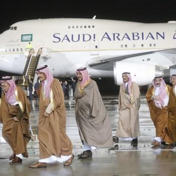 Image: Saudi Arabia's King Salman bin Abdulaziz Al Saud visits