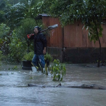 Image: Storm Nate rains leave at least 22 dead and 10 missing in Central America