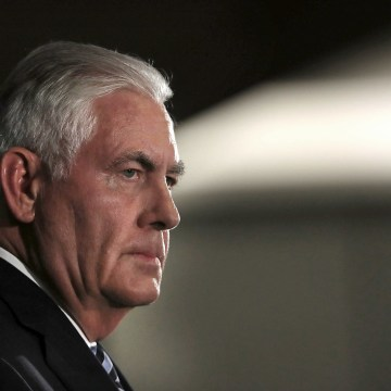 Image: Secretary Of State Rex Tillerson