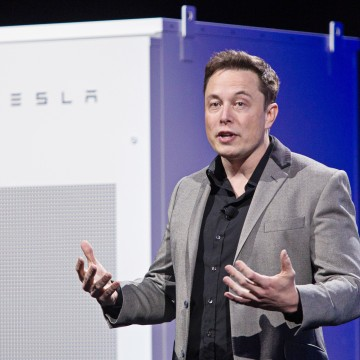 Image: Tesla Motors Inc. Chief Executive Officer Elon Musk Unveils New Generation Of Batteries