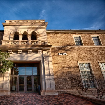 Image: Hemmle Recital Hall at Texas Tech University