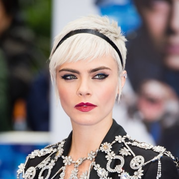 "Image: Cara Delevingne attends the ""Valerian And The City Of A Thousand Planets"" European Premiere"