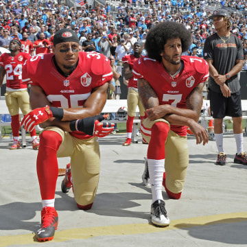 Image: Eric Reid and Colin Kaepernick