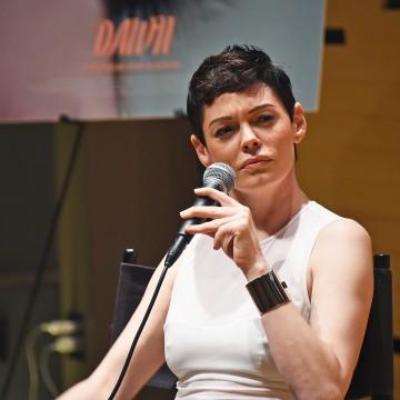 Image: Actress Rose McGowan